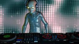 alien DJ Animation