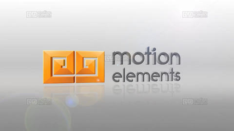 Simple Logo Rotation Reveal After Effects Template