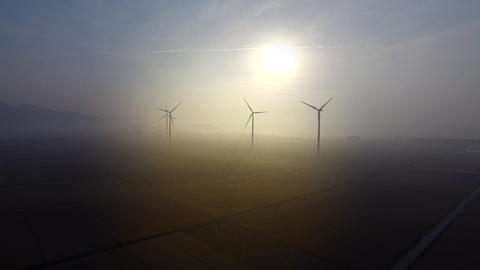 Wind Generator three Footage