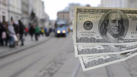 Concept money for travel tourism rest Live Action