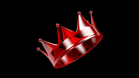 Red crystal crown Animation