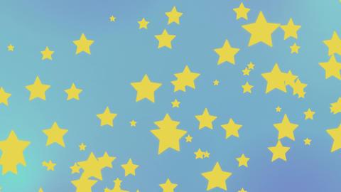 星の背景 CG動画
