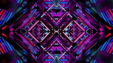 Machine runner 3d abstract motion background vj loop no.11 CG動画
