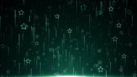 Particles star dust abstract light motion titles cinematic background loop Animation