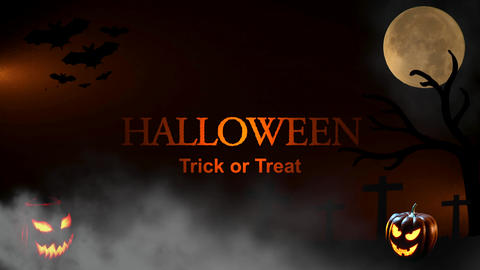 Halloween Trick or Treat Footage