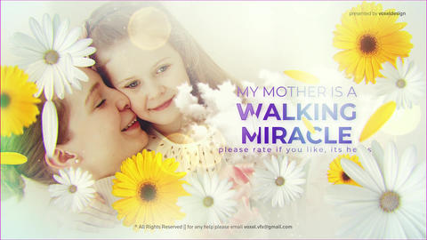 Happy Mother's Day Opener After Effects Template
