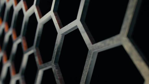 Honeycomb metal structures 3 Live Action