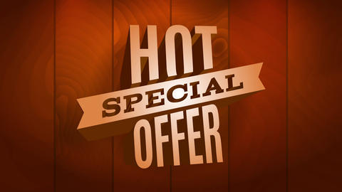 hot special offer sale for products on high demand or commercial business using striking visuals Animation