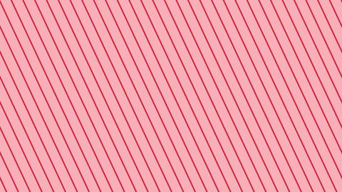 斜めのストライプ 赤薄い 極細 ループ CG動画
