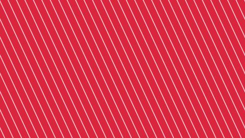 斜めのストライプ 赤濃い 極細 ループ CG動画