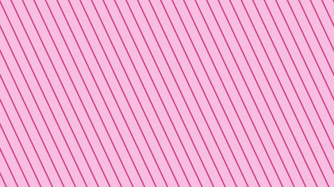 斜めのストライプ ピンク薄い 極細 ループ CG動画