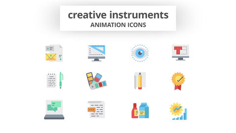 Creative Instruments - Animation Icons After Effects Template