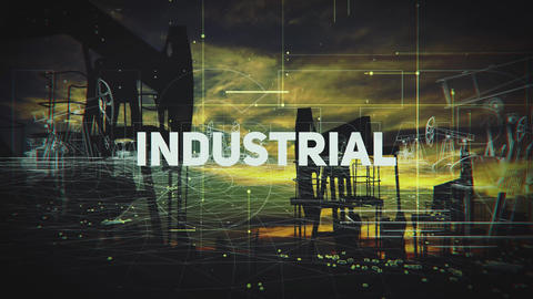 Ecology Industrial Trailer After Effectsテンプレート