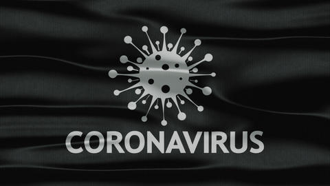 Flag coronavirus GIF