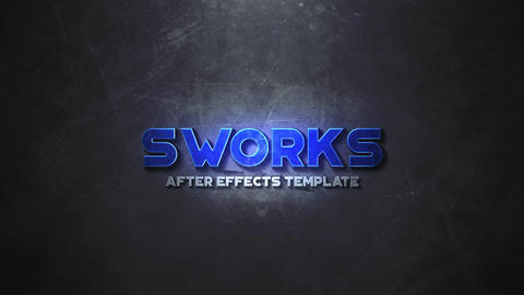 Epic Action Logo After Effects Template
