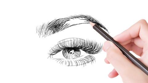 Eye Brow Logo Premiere Pro Template