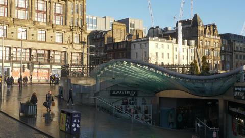 Waverly Mall in Edinburgh Live Action
