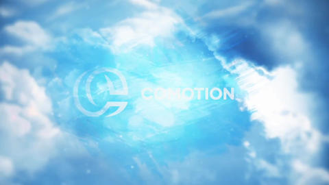 Sky Logo Reveal Apple Motion Template