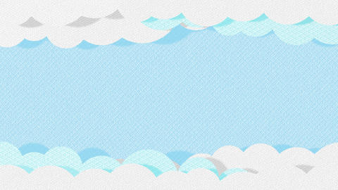 Paper Clouds Animation