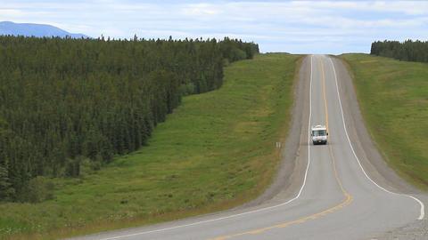 ALCAN Highway Canada motorhome raven P HD 1325 Footage