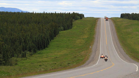 ALCAN Highway motorcycles P HD 1326 Footage