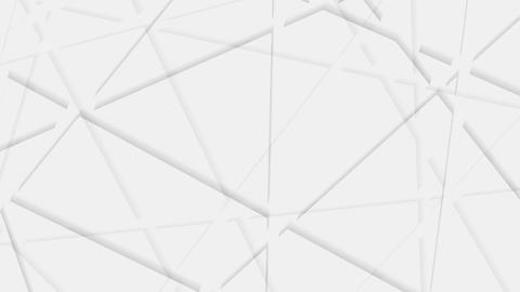 Abstract grey corporate polygonal video animation Animation