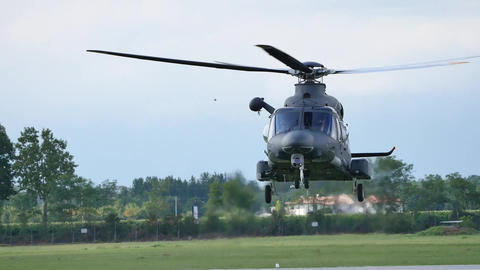 Camera Shutter Speed Matches Helicopter's Rotor Live Action