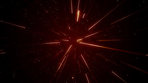 Particles dust abstract light motion titles cinematic background loop Videos animados