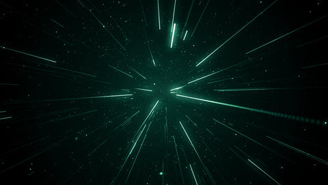 Particles dust abstract light motion titles cinematic background loop Animation