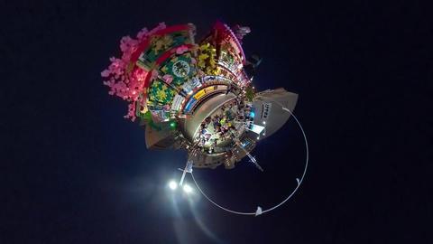 八戸三社大祭リトルプラネット ライブ動画