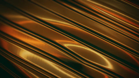 Gold Metal Surface Background Animation