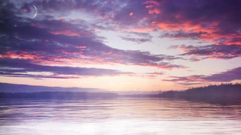 Sunrise Morning Landscape Animation