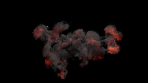 Explosion Sky 02 Animation
