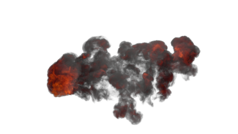 Explosion Sky 04 Animation