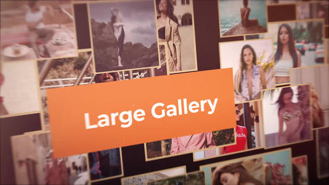 Fast Large Gallery After Effects Template