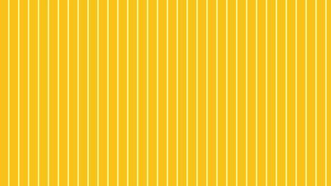 縦のストライプ 濃い黄色 極細 ループ CG動画