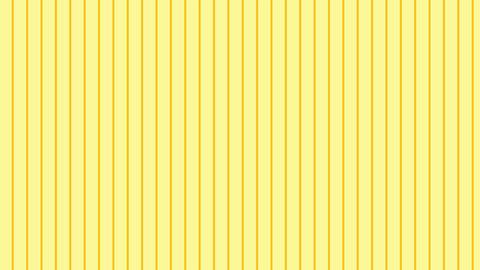 縦のストライプ 薄い黄色 極細 ループ CG動画
