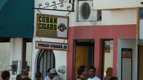 Cuban Cigar sign P HD 4543 Live Action