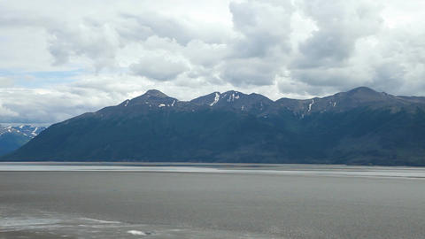 Cook Inlet Anchorage Alaska P HD 8085 Footage