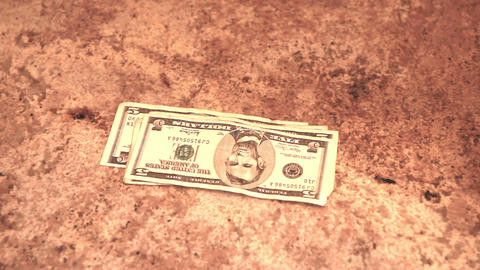 Counting dollars on table P HD 8609 Live Action