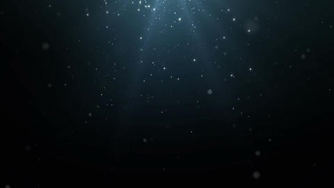 Particles dust abstract light motion titles cinematic background loop 06 Animation