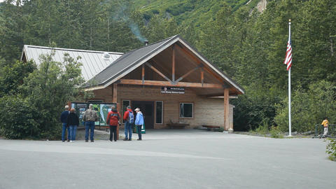 Exit Glacier Visitor Center P HD 8142 Live Action