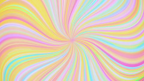Soft Holographic Whirled Lines CG動画