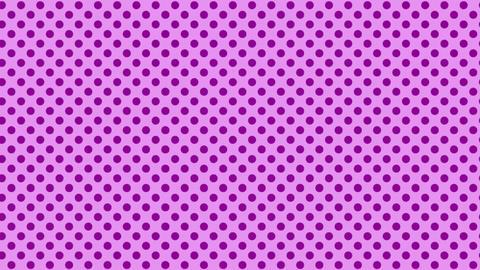 薄い紫 水玉背景 ループ CG動画