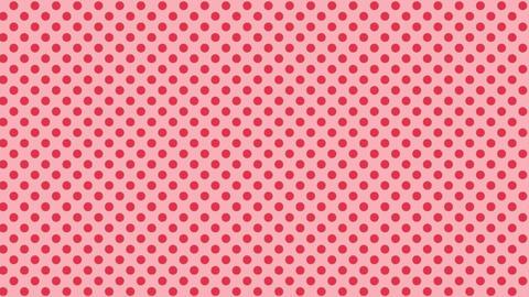 Polka dot background-redB Videos animados