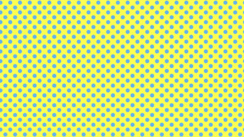 Polka dot background-blue&yellowA Videos animados