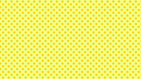 Polka dot background-yellowB