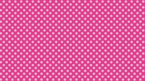 ピンク 水玉背景 ループ CG動画
