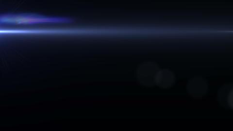 Anamorphic Lens Flares Animation