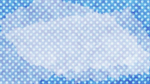 Polka dot background-blueC Animation